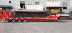 Makinsan. Трал-тяжеловоз 4 оси низкорамный 70 тонн В Наличии , 70 000кг.