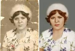 Реставрация фотографий. Восстановление испорченных, старых фотографий.