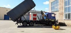 Продам Ломовоз МАЗ 6312С9 с КМУ Palfinger VM10L74. 7 500куб. см.