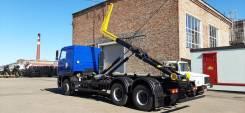 Велмаш. Продам Мультилифт мусоровоз МАЗ 6312С9 с Palfinger, 7 500куб. см.