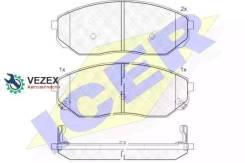 Колодки тормозные дисковые ICER ICER 181606