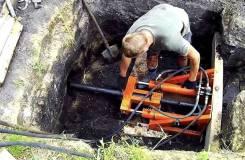 Безтраншейная прокладка трубопровода