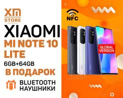 Xiaomi Mi Note 10. Новый, 64 Гб, 3G, 4G LTE, Dual-SIM, NFC