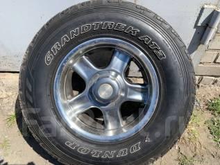 Dunlop Grandtrek AT3. летние, 2012 год, б/у, износ 5%
