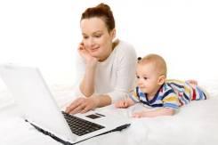 Подработка для активных мам в декрете!