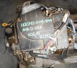 ДВС с КПП, Toyota 1KR-FE - AT A4B-D-03A 4WD KGC15 82 338 km коса+комп
