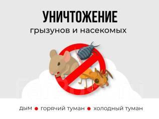 Уничтожение насекомых, тараканов, клопов, блоха, крыса. Договор! Без запаха
