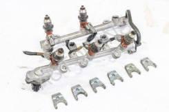 Рампа топливная правая в сборе с форсунками, АКПП 4WD 3.0 6G72 N96W RHD 6G72 N96W 3.0 Mitsubishi Chariot Grandis