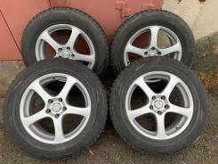 "Комплект зимних колес Bridgestone 225/65/R17 на литье Sibilla RT. 7.0x17"" 5x114.30 ET38"