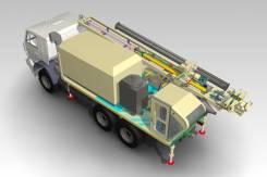 ПромБурАвто УРБ-2А2. Модифицированная буровая установка урб-2А2 для БВР, 11 762куб. см., 5 000кг. Под заказ