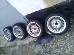 Ретро Old school JDM диски R15 4/114 с резиной