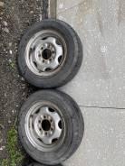 Пара колес на дисках 195/70R15 LT