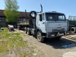 КамАЗ. Продается Камаз 54112 седельный тягач 1982 г с полуприцепом., 4x2