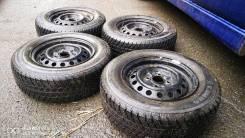 Toyota Vitz/микроавтобусы продам комплект всесезонных колёс.