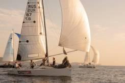 Обучение яхтингу, тренировки на парусной яхте