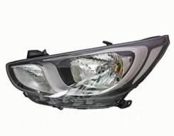 Фара (новая) для Hyundai Solaris 10-14г