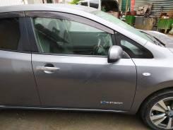 Дверь правая передняя на Nissan LEAF AZE0, цвет KAD, с Распила