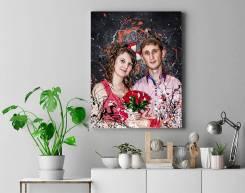 Изготовление картин с фото на холсте модульные картины
