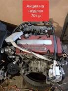 Двигатель H22A с навесным +видео работы