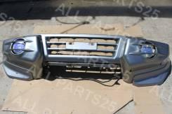 Бампер передний на Mitsubihi Pajero 3 V73W V65W V75W V68W V78W