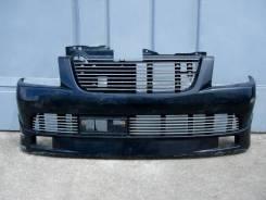 Suzuki Wagon R MC22S бампер передний (AERO) чёрный