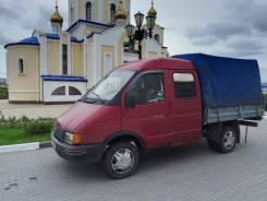 """ГАЗ 3302. Продам газель - """"фермер"""", 5 пассажирских мест, 2 400куб. см., 1 500кг., 4x2"""