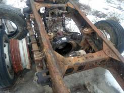 Чулок моста в сборе с барабанами Hyundai HD 120 двигатель D6DA Hyundai/Kia HD120, D6DB