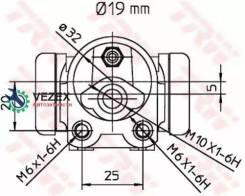 Деталь TRW BWD303 BWD303