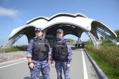 Полицейский-водитель. УВО по г. Владивостоку. Улица Комсомольская 9