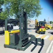 Atlet. Узкопроходный ричтрак с трехсторонней обработкой грузов, 1 250кг., Электрический