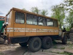 Урал. вахтовый автобус