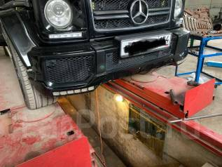 Бампер W463 (гелендваген)под ремонт