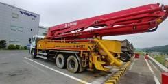 Junjin. Бетононасос JX-M4317 43 метра на базе Nissan Diesel UD 2014, 10 836куб. см., 43,00м. Под заказ