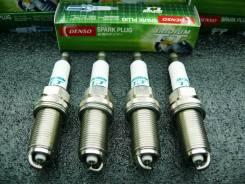 Комплект Иридиевых Свечей зажигания Denso Iridium TT IKH16TT (4 шт)
