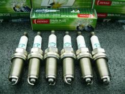 Комплект Иридиевых Свечей зажигания Denso Iridium TT IKH16TT (6 шт)
