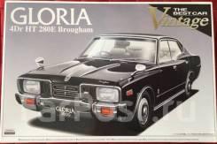 Сборная модель Nissan Gloria KPF330 280E Brougham. + Подарок. Cadillac Brougham. Под заказ