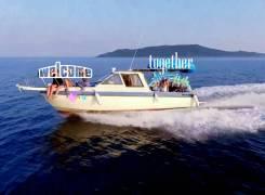 Аренда катера 9 метров. 9 человек, 50км/ч