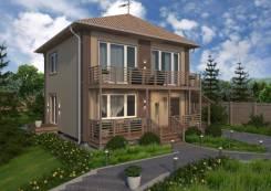 Продам новый каменный дом. Улица Калинина 51, р-н Центральный, площадь дома 159,0кв.м., площадь участка 1 000кв.м., централизованный водопровод, э...