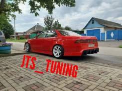 Задний бампер от JTS Tuning Origin Labo на Toyota Mark2 jzx 90