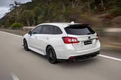 Уголки заднего бампера STI для Subaru Levorg VM4, VMG (HFF)