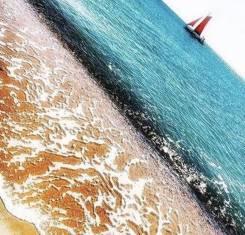 Участки на побережье Чёрного моря. 700кв.м., собственность, электричество, вода