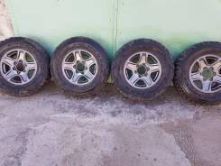 Колеса 265/70/16 Япония 6х139.7 шины MT/R на Prado/Surf/Terrano/Pajero