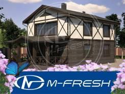 M-fresh Realist (Готовый реальный проект добротного дома. Изучите! ). 200-300 кв. м., 2 этажа, 4 комнаты, бетон