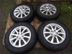 215/65 R16 Dunlop DSX-2 2012г на литье 5*114,3 Weds Joker