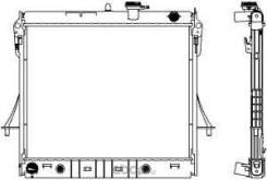 Радиатор охл. ДВС GMC Hummer H3 3.5/3.7 06-10 Sakura 30811009 30811009