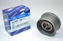 Натяжной ролик ГРМ Hyundai Santa Fe 01- Sonata III IV 98- Kia Magentis 00- Sorento 02- Hyundai-KIA [2445038011] 2445038011