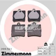 Колодки торм. диск. зад Chrysler Crossfire 03- MB C-Class (202 203) 95- E-Class (124 210) 93- Zimmermann [219191501] 219191501