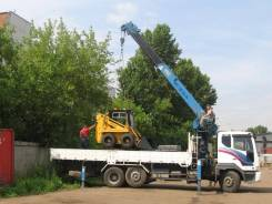 Услуги манипулятора до 20 тон, Волгоград, спецтехника