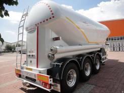Nursan. Цементовоз 32 Алюминиевый, 5 100 кг., оси BPW., 35 000кг.