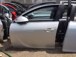 Дверь передняя левая серебро Opel Insignia 2009г